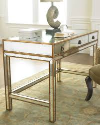 30 fab mirrored desks to glam up your home office candace rose