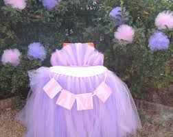 Pink Table Skirt by Winter Onederland High Chair Tutu Table Skirt Pink Blue