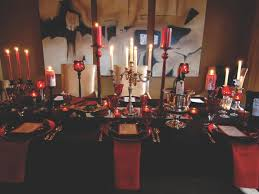 Black Table Centerpieces by 10 Halloween Table Decorations U0026 Settings Hgtv