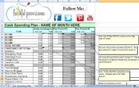 Dave Ramsey Budget Spreadsheet Template How To Budget Free Printable Budget Worksheet Faithful Provisions