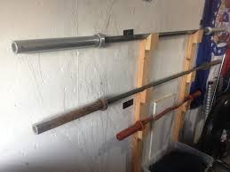 wall mount barbell rack build it pinterest gym crossfit and