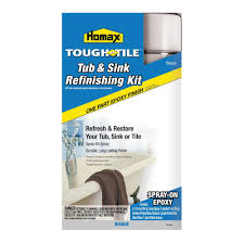amazon com tough as tile epoxy finish spray on kit bisque