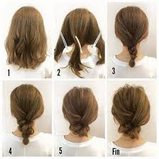 hair buns for hair 40 and easy updos for medium hair