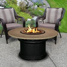 del mar 48 inch propane fire pit table by california outdoor
