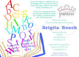 Winnie The Pooh Invitation Cards Storybook Baby Shower Invitations U2013 Gangcraft Net