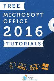 7 best microsoft office tutorials images on pinterest microsoft
