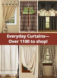 Country Style Kitchen Curtains by Primitive Bedroom Curtains U2013 Laptoptablets Us