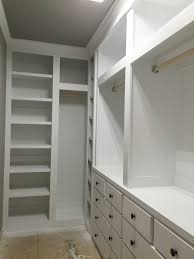 Built In Closet Design by Articles With Diy Built In Closet Ideas Tag Built In Closet