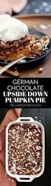 german chocolate upside down pumpkin pie melanie makes