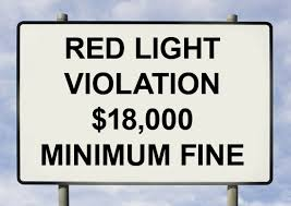 how much is a red light fine 18 000 traffic fine possible if you live in los angeles abril uno
