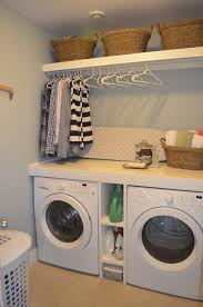Bathroom Laundry Storage 50 Laundry Storage And Organization Ideas Small Laundry Rooms
