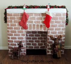 superior cardboard fireplace decoration part 6 cardboard