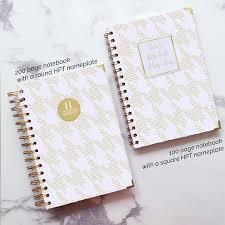 wedding planner notebook personalised wedding journal to be gift for