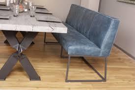 Teak Esszimmer Bank Sitzbank Lena Leder Africa Baltico Het Anker Design