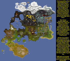 Oldschool Runescape World Map by The Future Of Zeah 2007scape