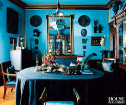 Traditional Home Interiors Traditional Home Library In Turquoise Interiors By Color