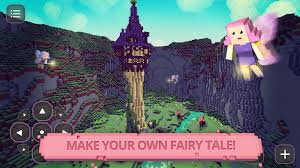 fairytale blocky girls craft android apps on google play