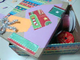 how to make a craft box with a used gift shoe box kids crafts