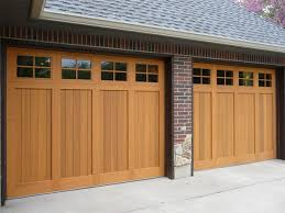 Size Of Garage Choice For Garage Door Styles With Sliding Garage Doors Also Wood