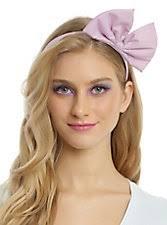 bow headband large pastel pink bow headband hot topic