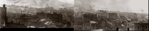 panorama of downtown helena montana circa 1911