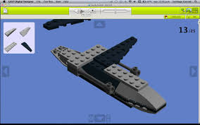 lego digital designer ldd bounty hunter ship youtube