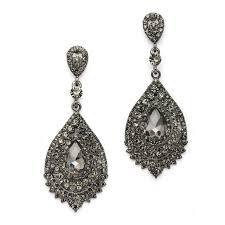 dramatic earrings the 25 best black prom earrings ideas on fabulous