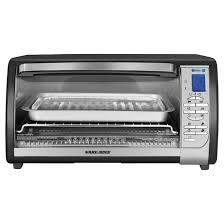 Oster 6 Slice Digital Toaster Oven 6 Slice Digital Convection Toaster Oven Black Silver Rona