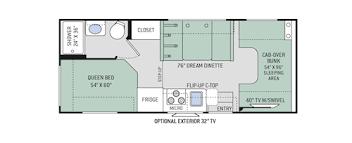 motorhome floor plans chateau class c motorhomes floor plans thor motor coach