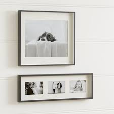 Frameless Photo Picture Frames For Photos And Wall Art Crate And Barrel
