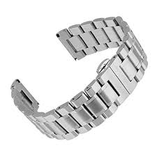 buckle clasp bracelet images Beauty7 luxury 20mm stainless steel link watch band bracelet strap jpg