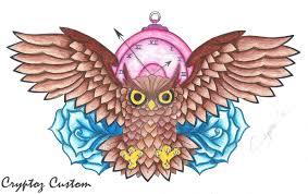 commission owl design by lutamesta on deviantart