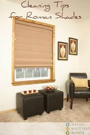 how to clean roman shades shades shutters blinds