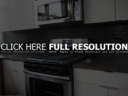 black kitchen backsplash backsplash ideas