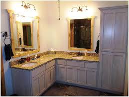 corner bathroom sink and vanity bathroom decoration