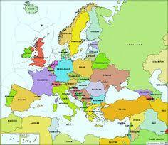 updated map of europe mapa politico 2 пейзажи и архитектура geography