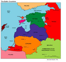 Countries Map Baltic Countries Baltic Countries Political Map Travel Map