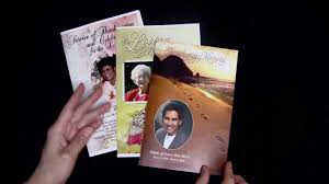 Funeral Bulletin Templates Funeral Program Templates Letter Size Single Fold Programs Youtube