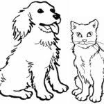 kitten coloring pages to print cats kitten coloring pages printable gekimoe u2022 103567
