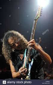 kirk hammett of metallica metallica performing live during their
