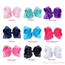 hair bows for sale 8 inch rainbow unicorn sequin hair bow bling bows hair clip baby