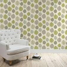 Green Striped Wallpaper Living Room Ideas Enchanting Living Room Decor Wallpaper Xd Olive Green