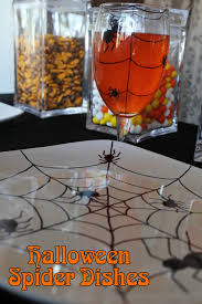 halloween goblets halloween spider glass and dishes diy everyday parties