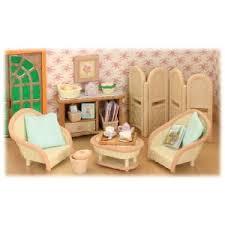 Flair Sylvanian Families Conservatory Living Room Set A Beautiful - Sylvanian families living room set
