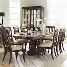 westwood oval double pedestal dining table with leaves by