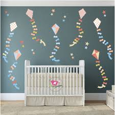 star wall stickers enchanted interiors neutral kites stars nursery wall stickers