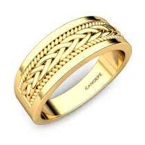 gold rings for men buy men gold bands rings classic bands best price candere