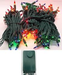 miniature christmas tree lights christmas lights set of 140 multi color random twinkling and chasing