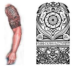 tribal forearm tattoos 2016