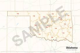 oklahoma zip code map search the maptechnica printable map catalog maptechnica